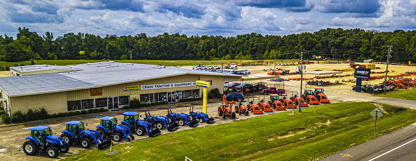 Since 1956, Crain Tractor & Equipment, Inc. has been selling top quality tractors and farm equipment along with service and parts to back up the sale.
